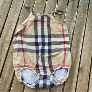 Beach wear Romper Burberry 3 / 6 months Beige